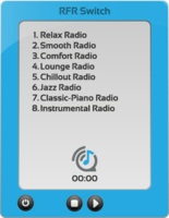 Rights Free Radio Switch