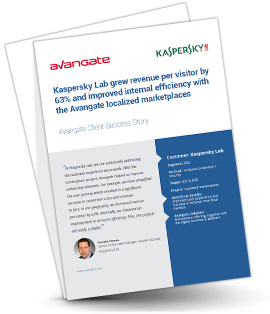 Kaspersky Lab: Improved revenue and optimized customer experience in local markets