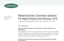 Commerce Solutions For Digital Products And Services