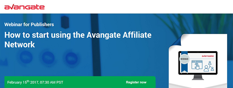Webinar for Publishers: How to start using the Avangate Affiliate Network