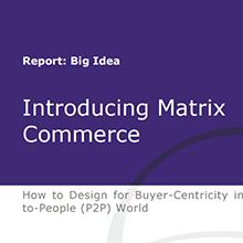 Introducing Matrix Commerce