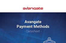 Avangate Payment Methods Datasheet