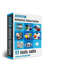 AVS4YOU Multimedia Software
