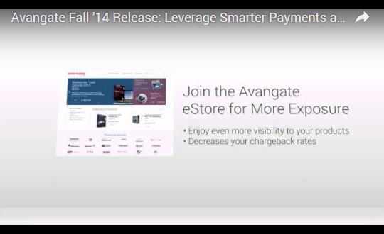 Avangate Fall '14 Release