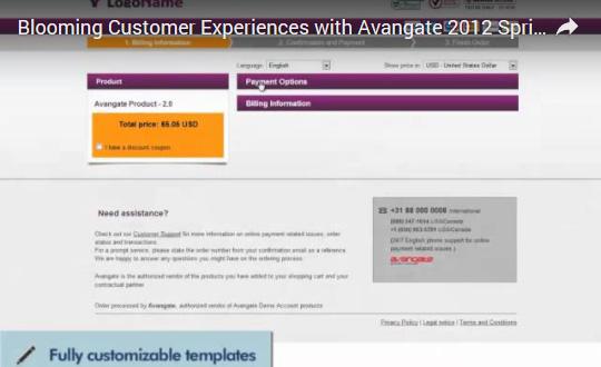 Avangate Spring '12 Release