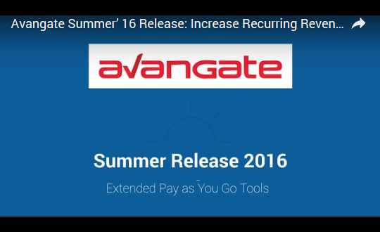 Avangate Summer '16 Release