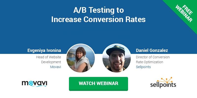 A/B testing tool webinar